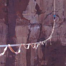 Napojování lajn pro dlouhé highline